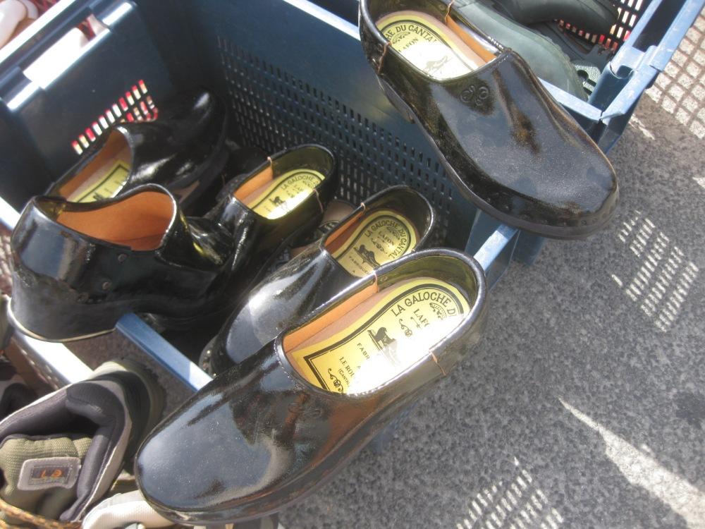 Les socques, les galoches, les sandalettes à Saint-Yrieix, années 40, 50, 60 (4/4)
