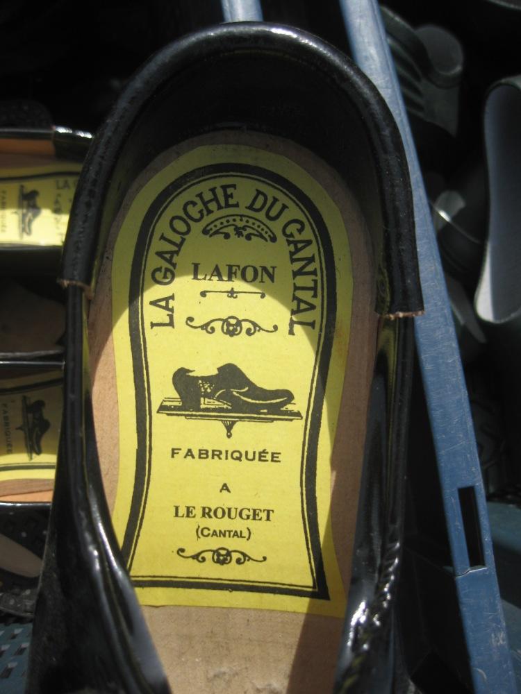 Les socques, les galoches, les sandalettes à Saint-Yrieix, années 40, 50, 60 (3/4)