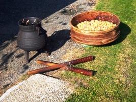 La recette des châtaignes blanchies, sortez le 108 Girodias, le toupis et le bouéradour ! (2/5)