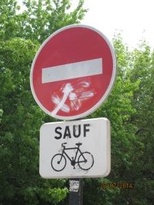 sauf vélo