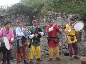 fête médiévale de lastour musiciens 1