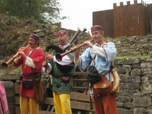 fête médiévale de lastour musiciens 10
