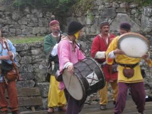 fête médiévale de lastour musiciens 2