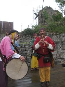 fête médiévale de lastour musiciens 4
