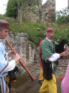 fête médiévale de lastour musiciens 5