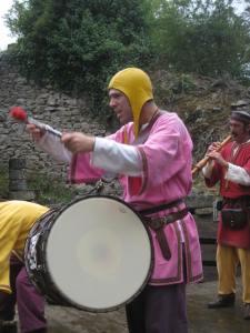 fête médiévale de lastour musiciens 9