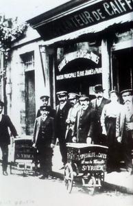 café du caiffa,  12 Rue du Marché 1900-1910