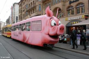 tram cochon