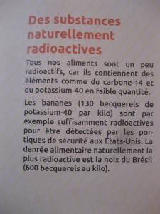 substances naturellement radioactives