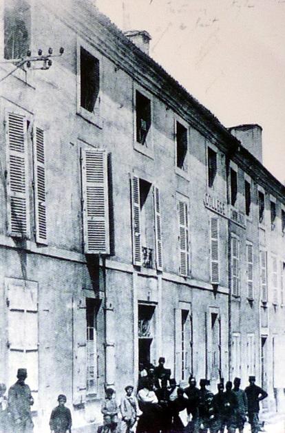 Le lycée Darnet (le vieux bahut)