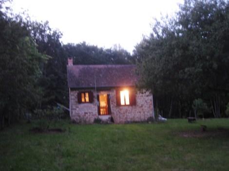Bourdoux maison de nuit 1