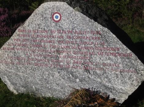 Mont Gargan 21 stèle