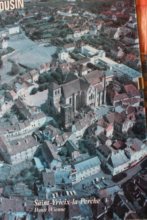 Vue aérienne Saint-Yrieix 2