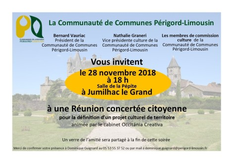 invitation reunion concerté